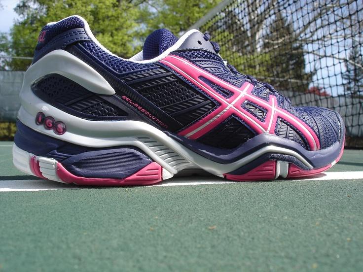 Asics Gel Resolution 4 tennis shoe