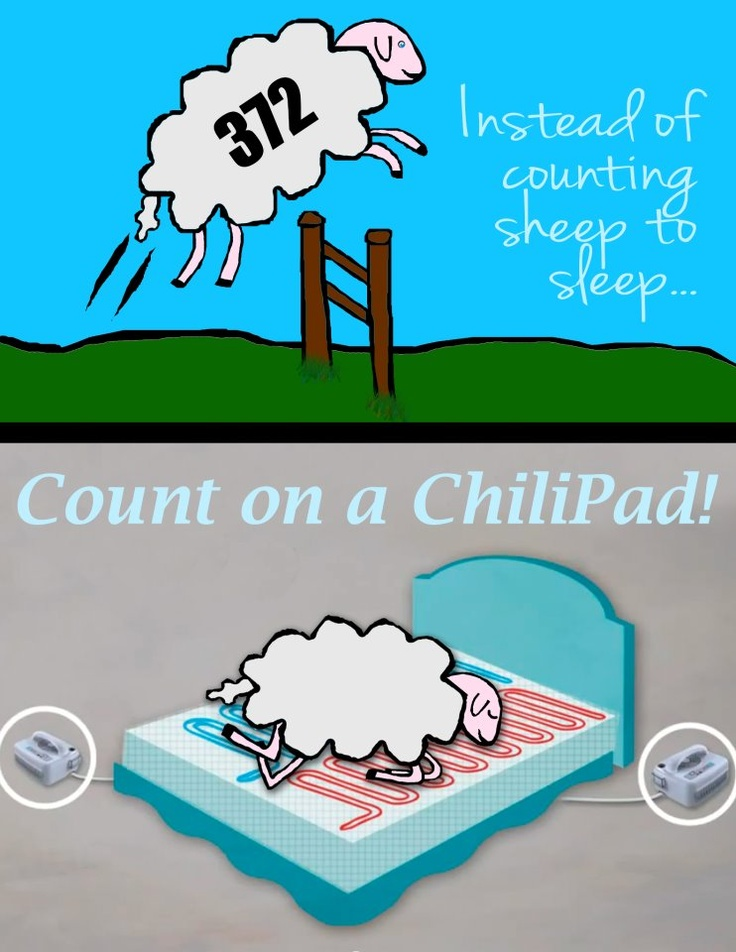 Too Hot Or Too Cold At Night Chilipad Can Be Controlled