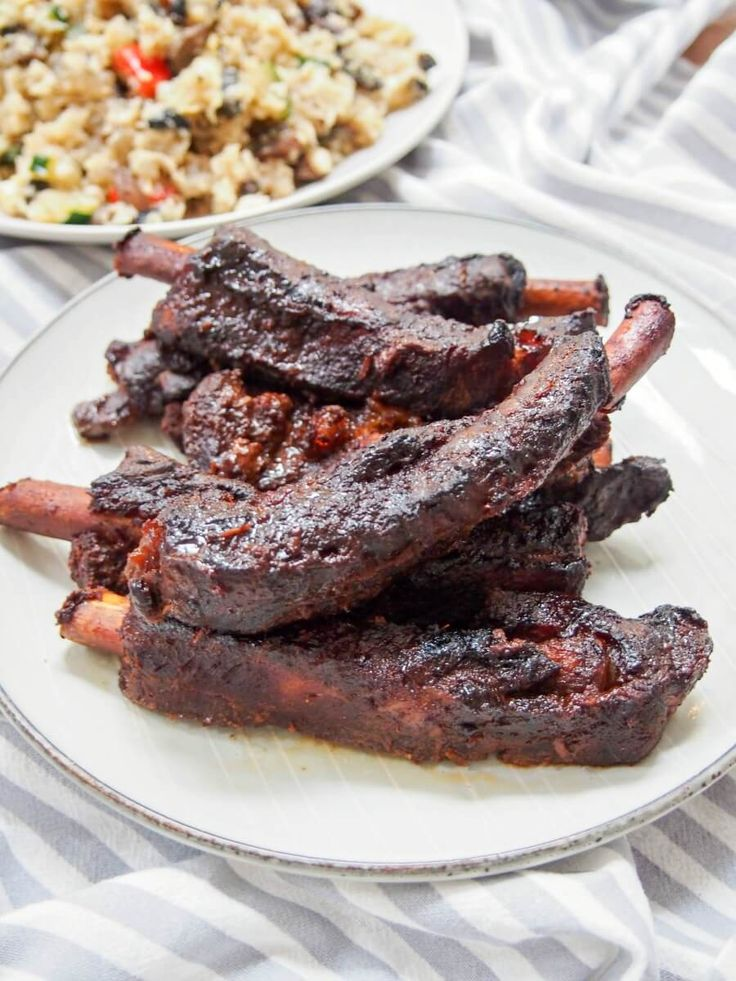 Chinese spare ribs in the slow cooker