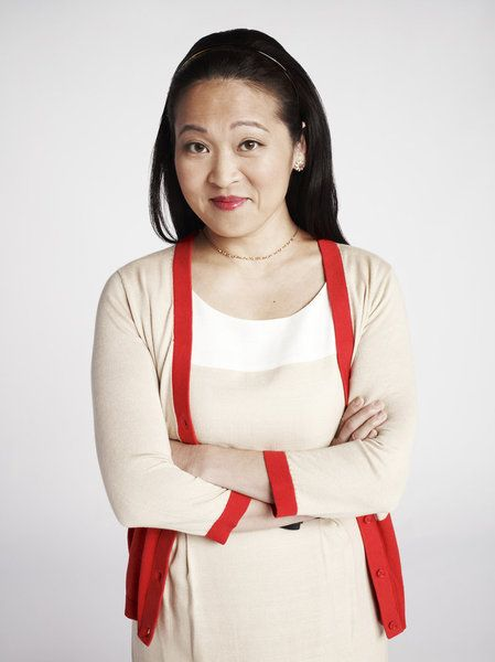 Suzy Nakamura as Yolanda on the NBC sitcom 'Go On' -- (Photo by: Robert Trachtenberg/NBC)