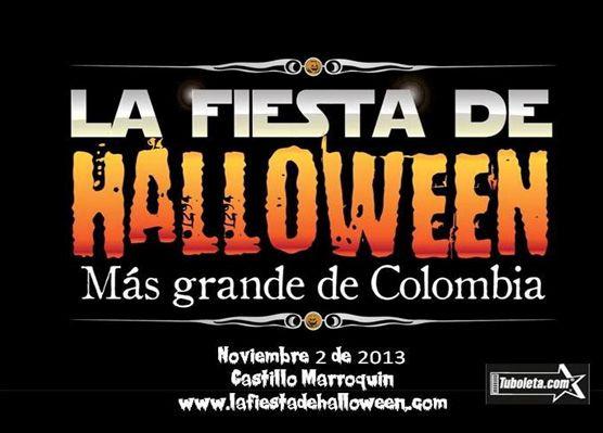 FIESTA EN EL CASTILLO MARROQUIN 02 DE NOVIEMBRE La Única Fiesta de Disfraces en Bogotá con Despliegue de Tecnología Animatión Party de última generación.