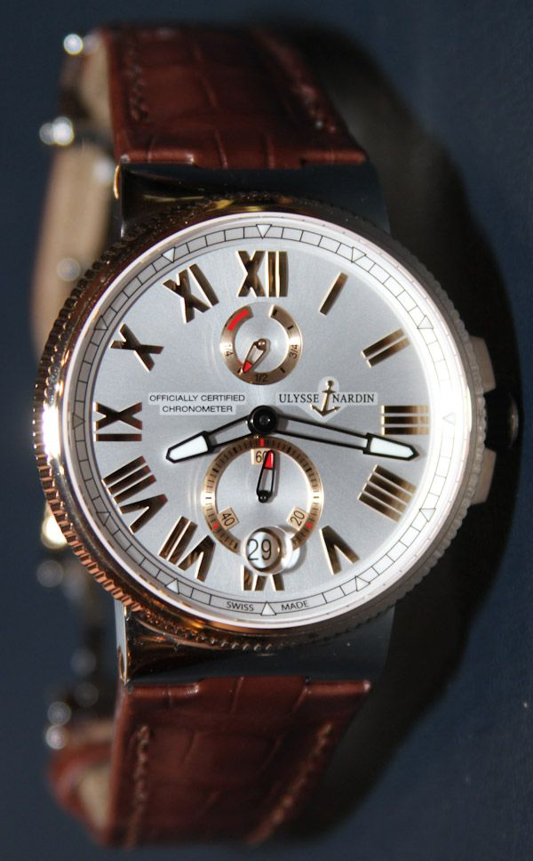 Ulysse Nardin Marine Chronometer Manufacture Watch