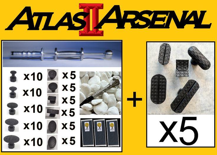 Paintless Dent Removal - Janson > Tools > Atlas Arsenal PDR Kit
