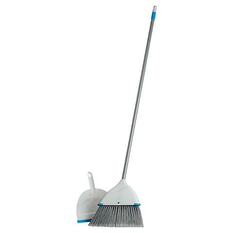 Buy disposable mop, broom, and dustpan for the initial clean