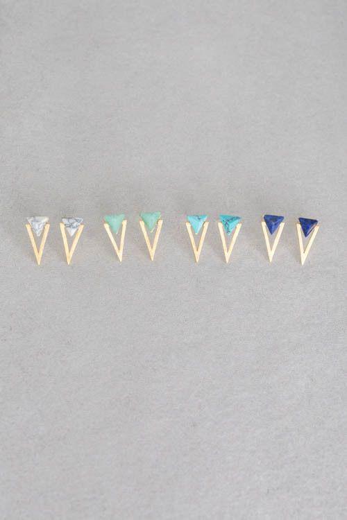 Lovoda - Legend Stone Earrings, $20.00 (http://www.lovoda.com/legend-stone-earrings/)