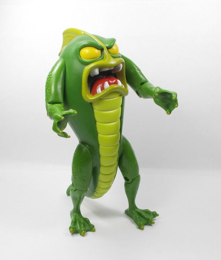 Scooby Doo Swamp Monster Action Toy Figure Cake Topper