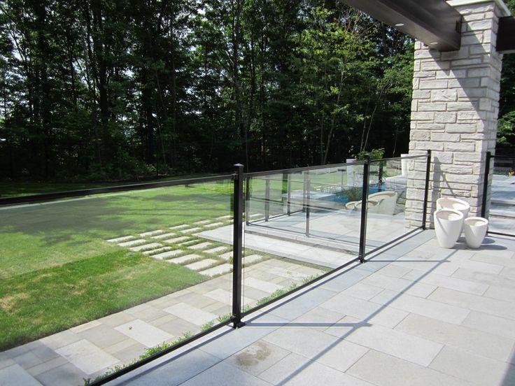 Clôtures en verre