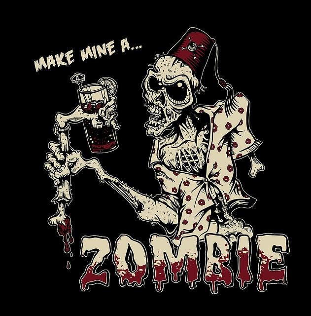 Zombie T-Shirt by David Lozeau, via Flickr
