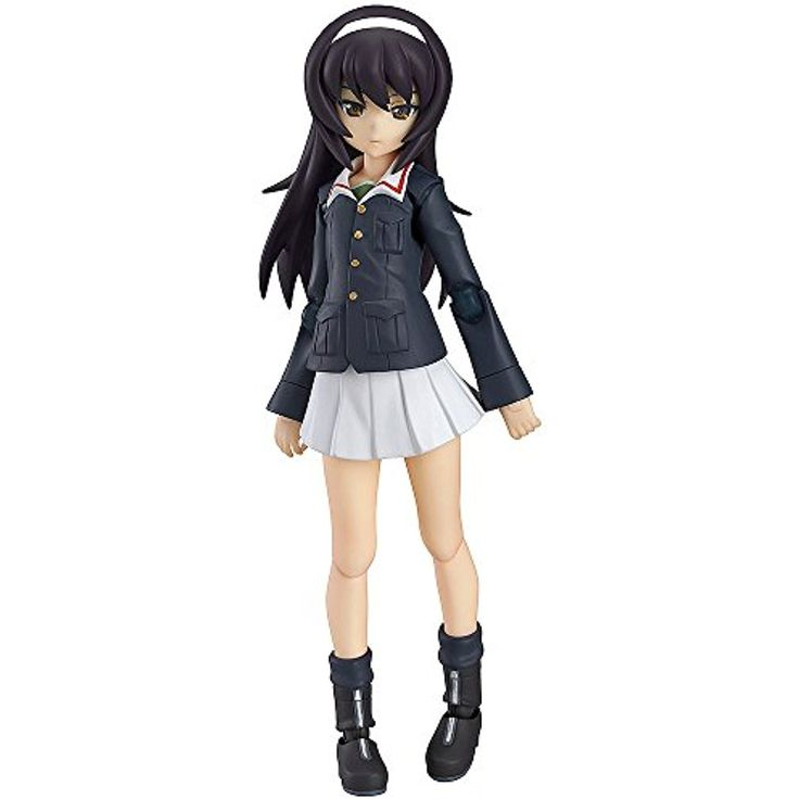 Max Factory Girls Und Panzer: Mako Reizei Figma Action Figure *** You can get additional details at the image link. (This is an affiliate link) #GrownUpToys