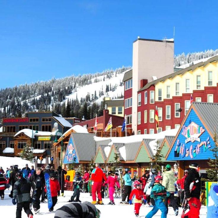 Skiing at Big White and Silver Star!