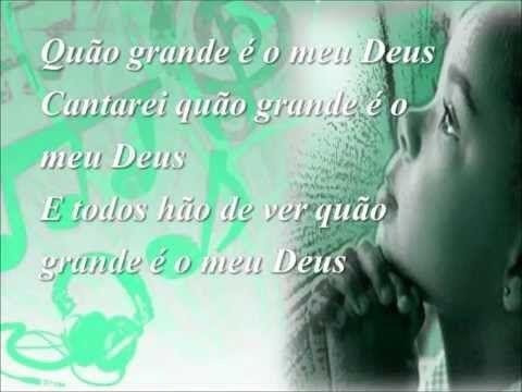 Quão Grande É o Meu Deus - Soraya Moraes - YouTube
