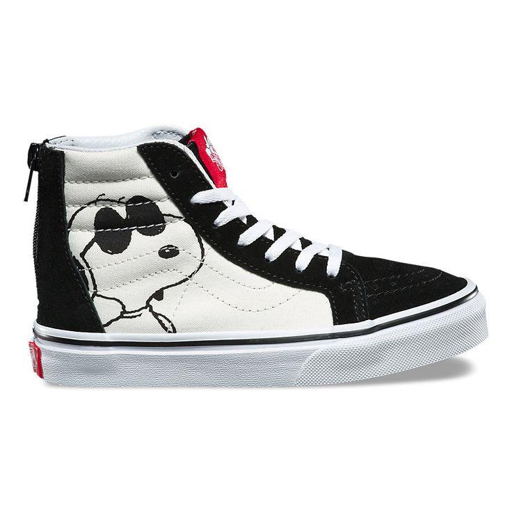 Vans x Peanuts Kids Sk8-Hi Zip - Joe Cool/Black