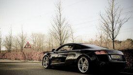 gorgeous black audi #cars #vehicles #audi