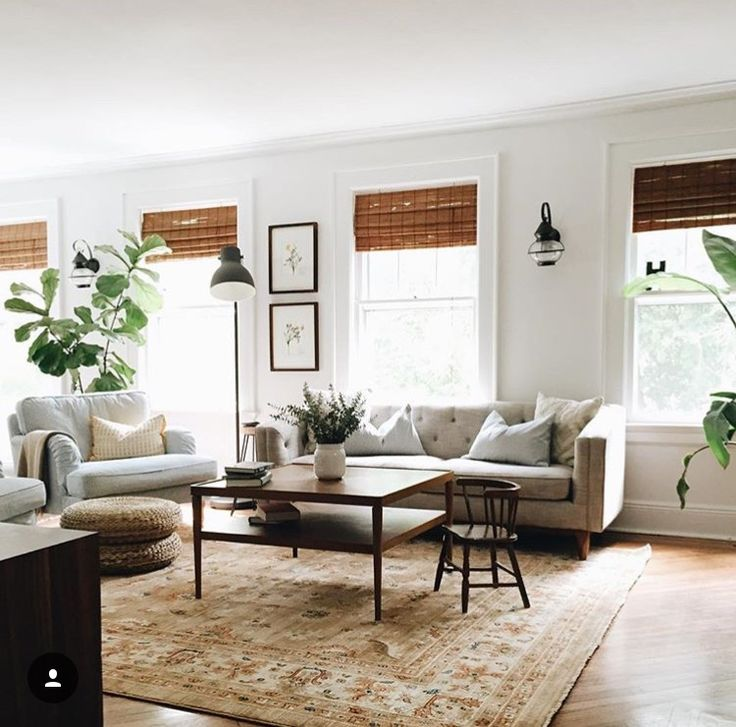 Like the bamboo blinds and warm look