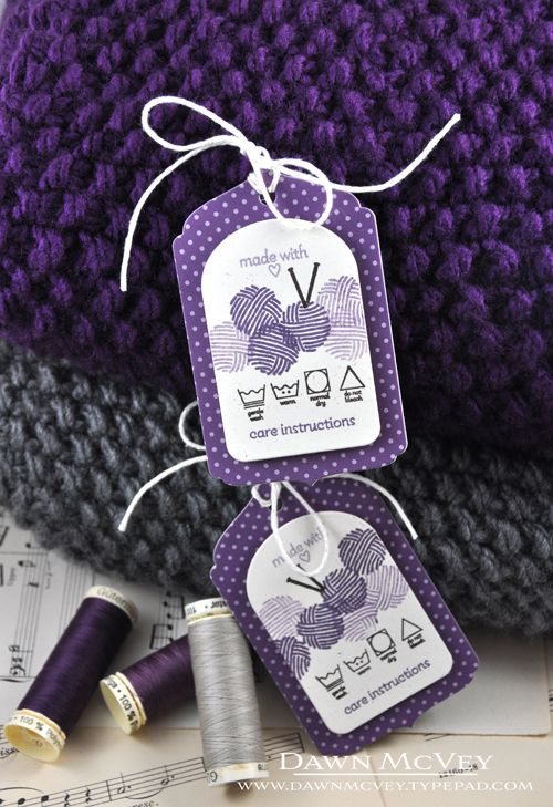 Gift Tags for Handmade Items