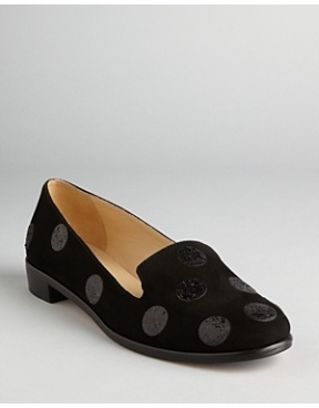 kate spade: Smoke Slippers, Polka Dots, Carissa Shoes, Spade Polka, Smoke Flats, Sequins Polkadot, York Smoke, Dots Smoke, Kate Spade