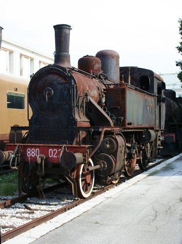 Trains rose the economy back in the 1800's. The theory is there use is fast communication and efficient traveling. So the invention of a clock was invented by letting people know when exactly the train arrives. Also, new invention were created. Businesses and towns were developed around the train stops.