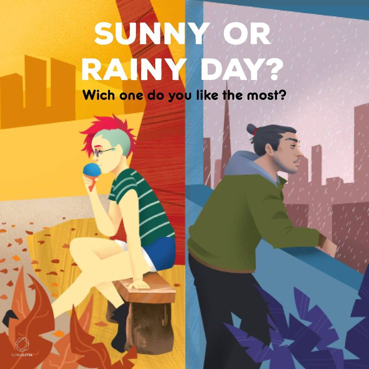 Do you rather sunny or rainy?