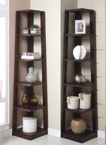 Corner Shelf $100: Dining Rooms, Living Rooms, Decor Ideas, Books Shelves, Books Shelf, 5 Tiered Books, Cornershelf, Corner Shelves, Corner Shelf