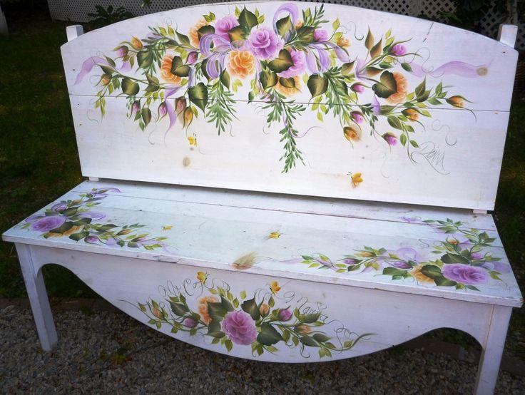 New Donna Dewberry bench, stained glass, ebay language item 001 (Large).JPG (JPEG Image, 1433 × 1080 pixels) - Scaled (55%)