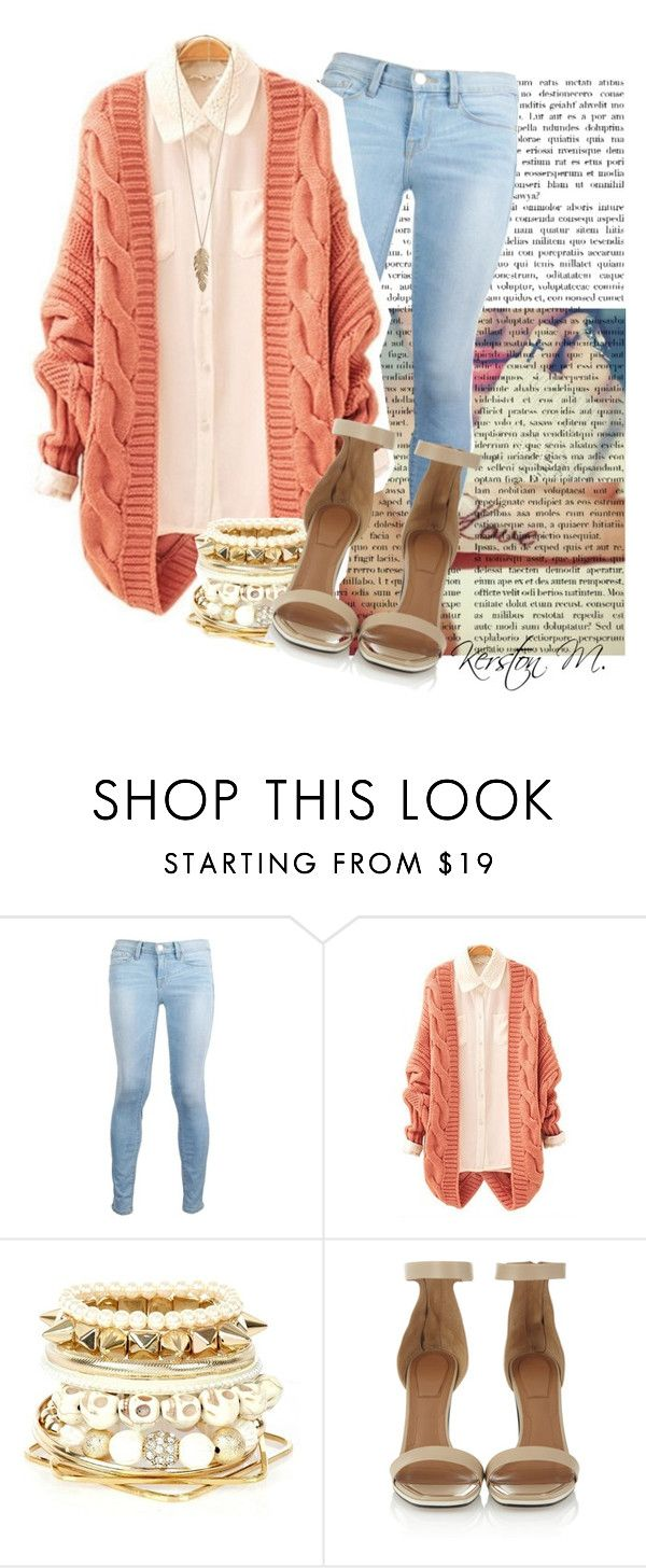 """""""Tattooed Heart - Ariana Grande."""" by kmitch001 ❤ liked on Polyvore featuring Frame Denim, River Island, Givenchy and Forever 21"""