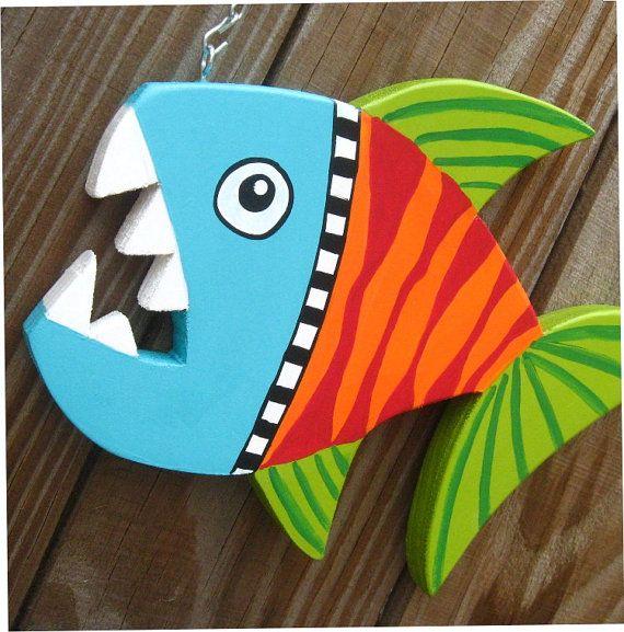 Custom Funky Fish sculpture by KellyGstudio on Etsy, $35.00