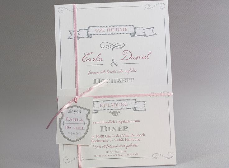 Letterpress Hochzeitskarten #Hochzeitskarten #kreativehochzeitskarten # Einladungskarten