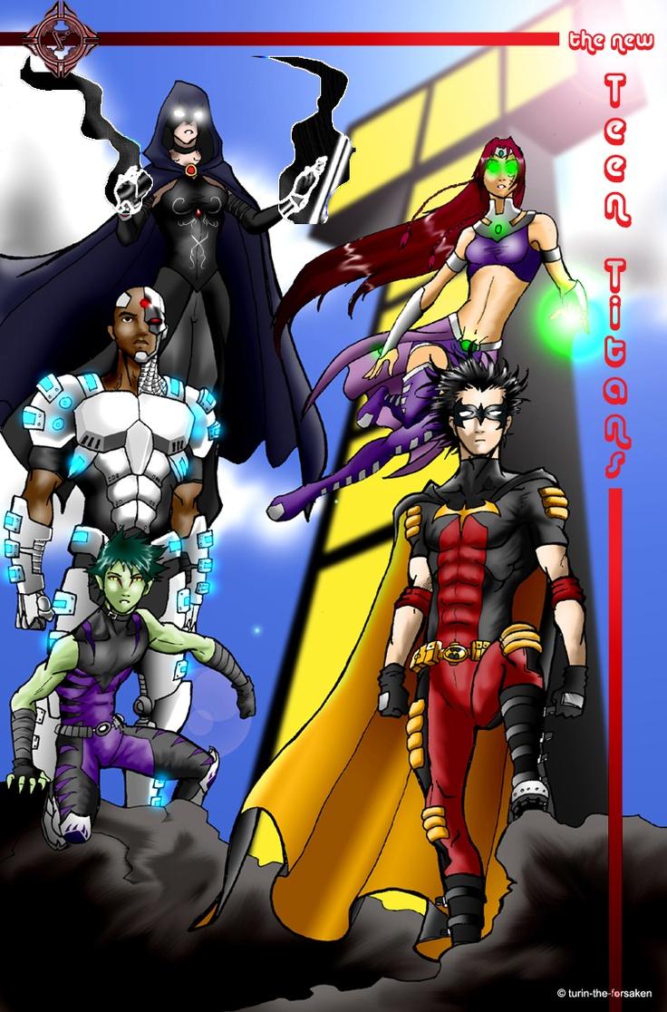 Tt- Doujinshi Comic Cover By Davidfernandezart On -4903