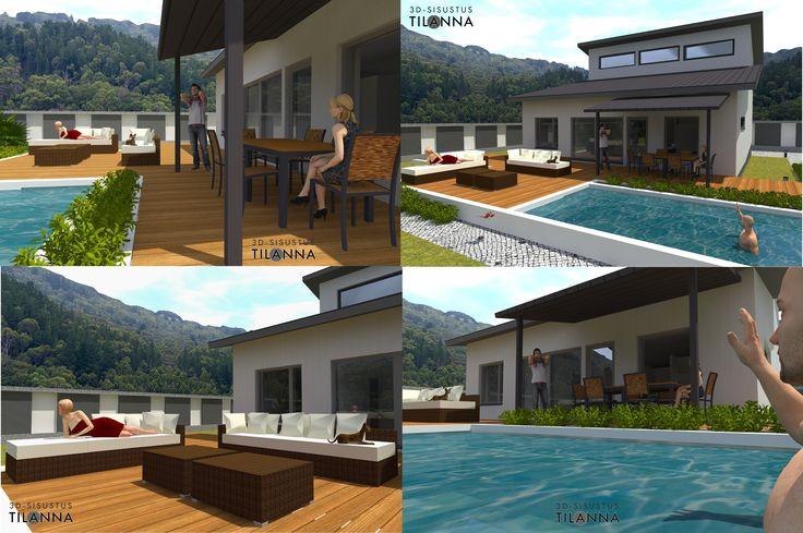 3D-visualisointi/ 3D-sisustus Tilanna, sisustussuunnittelija