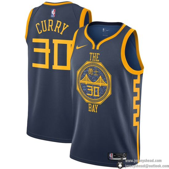 2019 Golden State Warriors Stephen Curry 30 City Edition Jersyes Free  Shipping 3b766995c