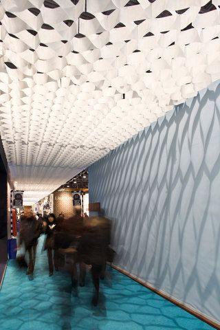 Honeycomb ceiling-PROCÉDÉS CHÉNEL