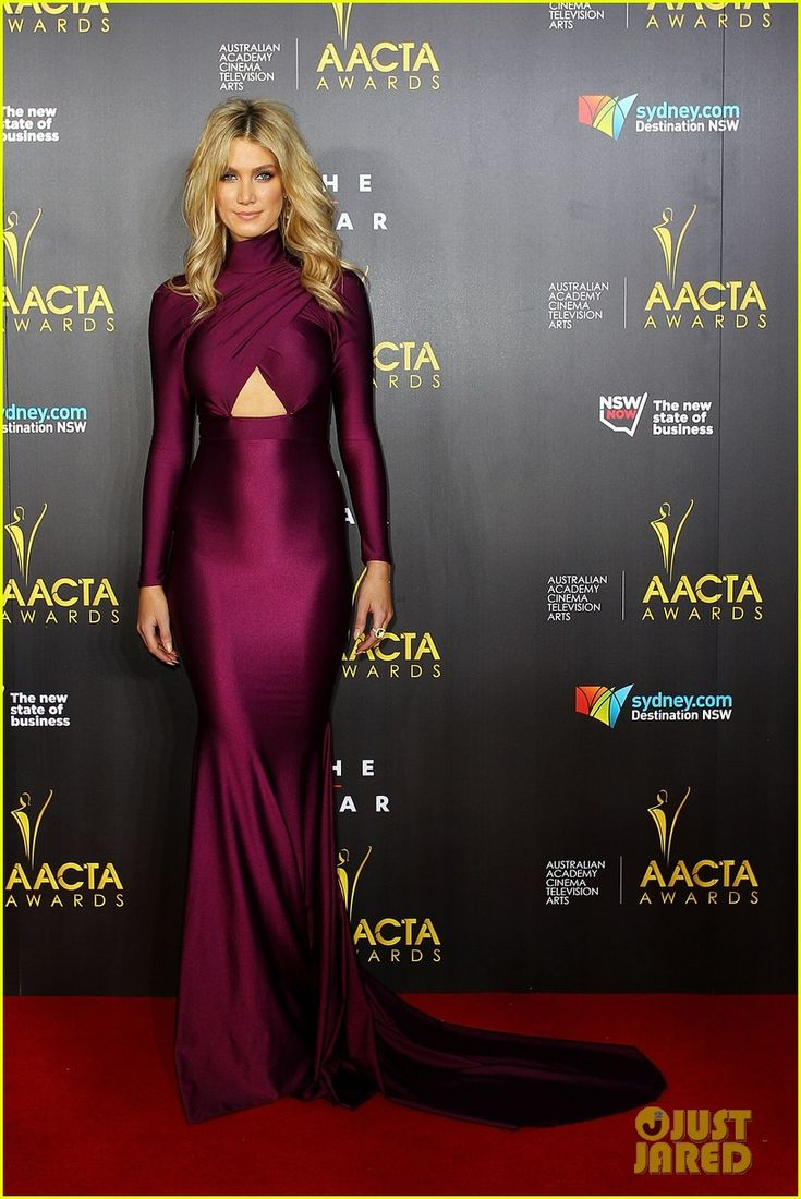Sam Worthington & Lara Bingle - AACTA Awards Ceremony 2014 Red Carpet | Delta Goodrem, Elizabeth Debicki, Geoffrey Rush, Lara Bingle, Rachel Griffiths, Sam Worthington Photos | Just Jared