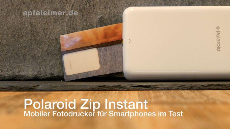 Polaroid ZIP mobile Printer Test: iPhone Drucker für Polaroid Abziehbilder - https://apfeleimer.de/2015/12/polaroid-zip-test-mobiler-iphone-drucker-fuer-polaroid-abziehbilder - Polaroid Zip heißt der kleine, mobile iPhone Drucker für die Westentasche. Wir haben uns den kleinen Drucker für Smartphones in unserem Polaroid Zip mobile Printer Test genauer angeschaut. Lohnt sich die Anschaffung des Polaroid Mini-Fotodruckers? Polaroid ZIP Drucker bei Amazon ZINK Dr...