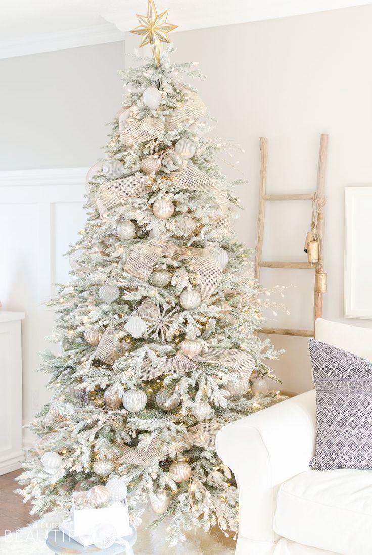 Christmas Decorations Sale Clearance Melbourne Enough Christmas Joy Cast Mrs Andrews Whi White Christmas Trees Christmas Tree Inspiration White Christmas Decor