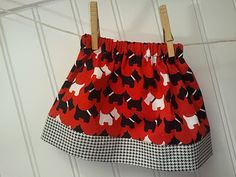 Easy Toddler Skirt Tutorial
