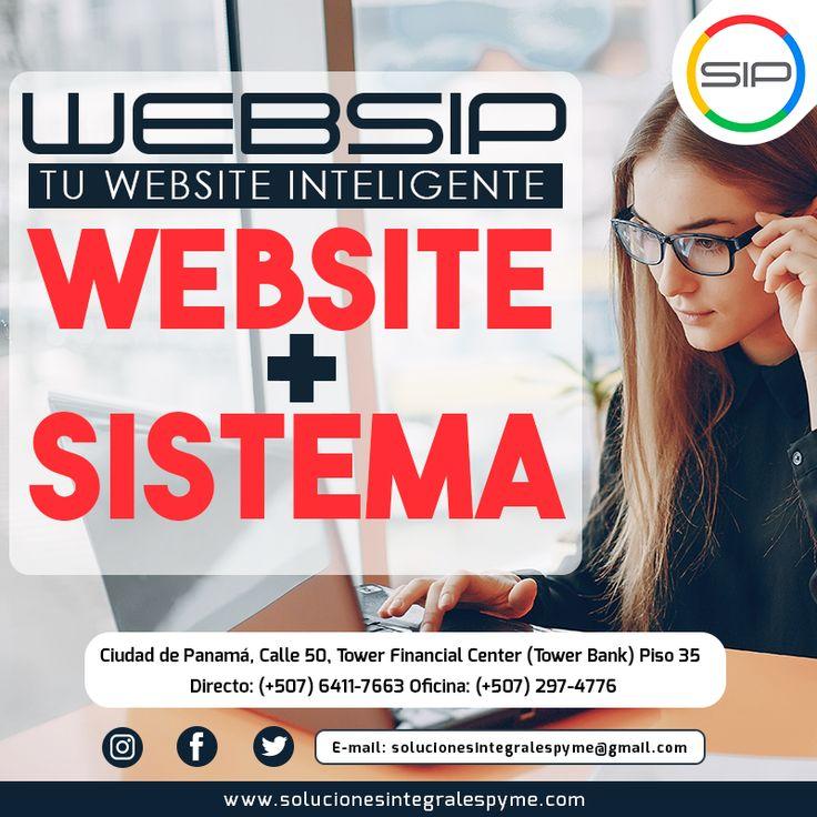 No esperes  más para tener tu website inteligente,  que te ofrece el Sistema Integrado Pyme SIP  para que puedas llevar tus procesos administrativos y comerciales en la web. Incluye tienda virtual, facturación, envío de mercancía, envío automático de factura digital ¡y muchas otras funciones!