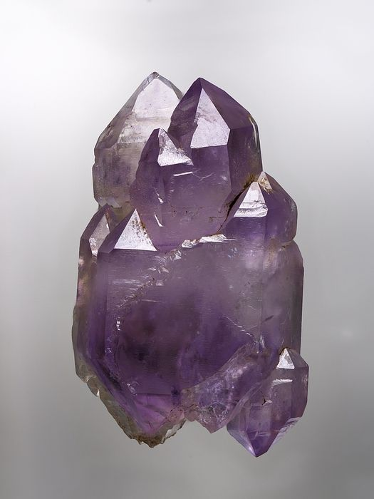 Quartz var.Amethyst - Blattjengrat, Mätti Valley, Binn Valley, Wallis, Switzerland Size: 35 mm