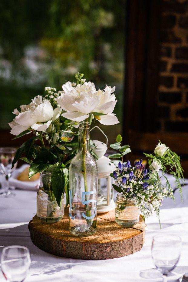 ... de table de mariage, Diy déco de mariage et Décorations de mariag