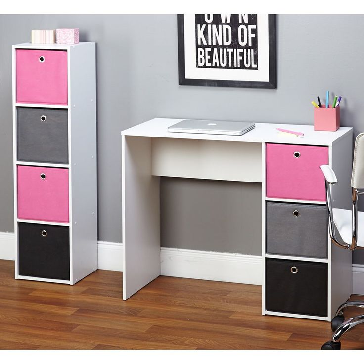 Simple Living Jolie Pink Writing Desk and Bookcase Set by Simple Living - Best 25+ Kids Desk Areas Ideas On Pinterest Kids Workspace, Kids