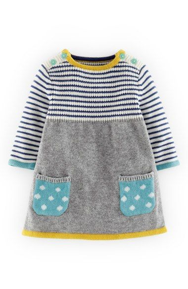 Mini Boden Sweet Knit Sweater Dress (Baby Girls)   Nordstrom