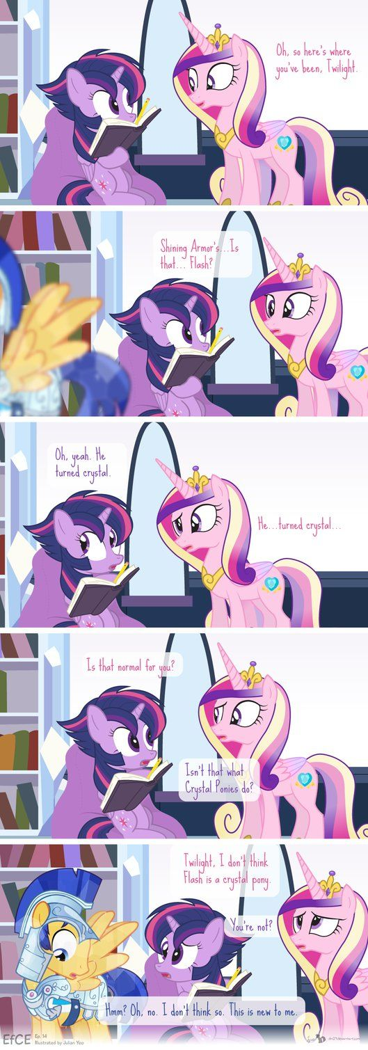 Comic Block: EfCE 14 (Crystal Flash Arc II) by dm29 on DeviantArt