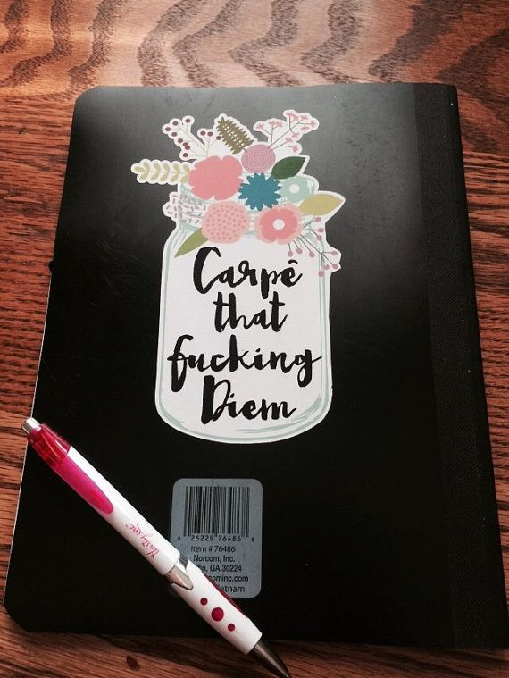This darling smarta$$ sticker is a tongue in cheek approach to life!  Looks great on binders, laptops, tablets, or anywhere you want to seize your day with a smile! This custom die cut sticker comes in 2 sizes, small and large Small measure 3 inches high and just over 2 inches wide Large Measures 5 inches high and a little over 4 inches wide custom sizing is available just message me to discuss the size you need and Ill add a custom listing.