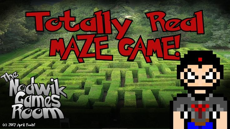 Better than Zelda!!!!1! Totally Real Maze Game