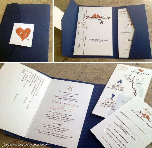 kimberly DIY wedding invitation