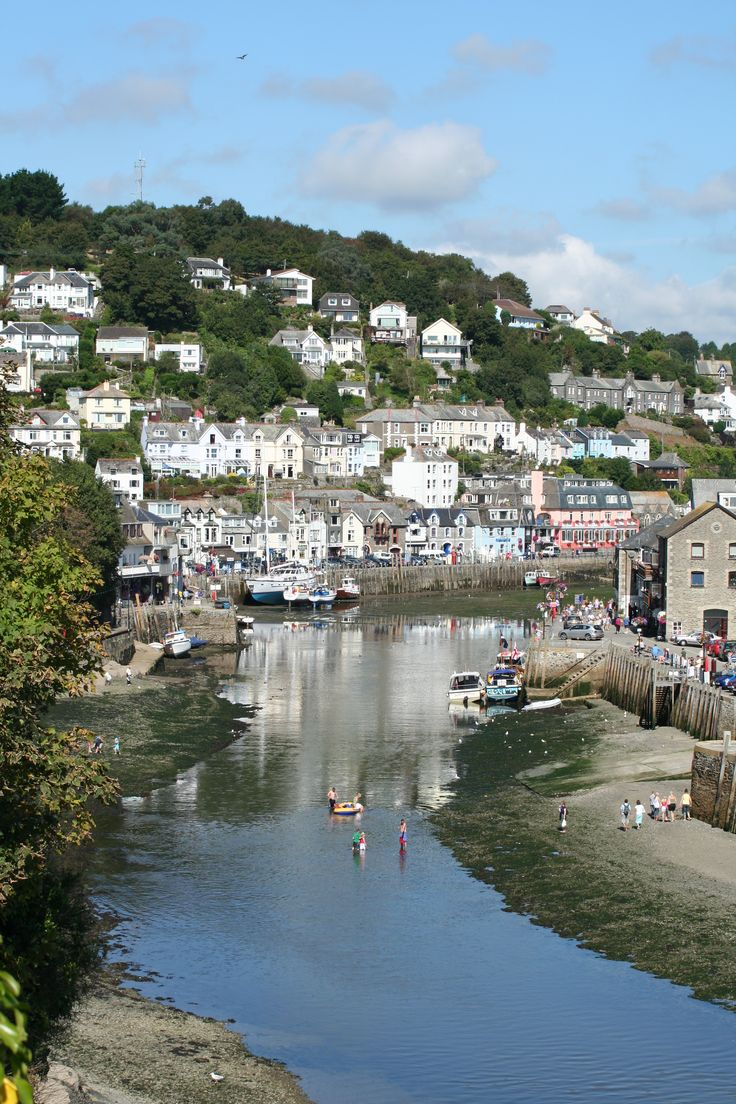 Looe - fishing trips, diving, walking, super restaurants and one of the largest fishing fleets in Cornwall - so the fish is fresh!