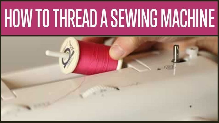 Quick & Easy Way To Thread A Sewing Machine   How To Set Up Your Old Sewing Machine By DIY Ready