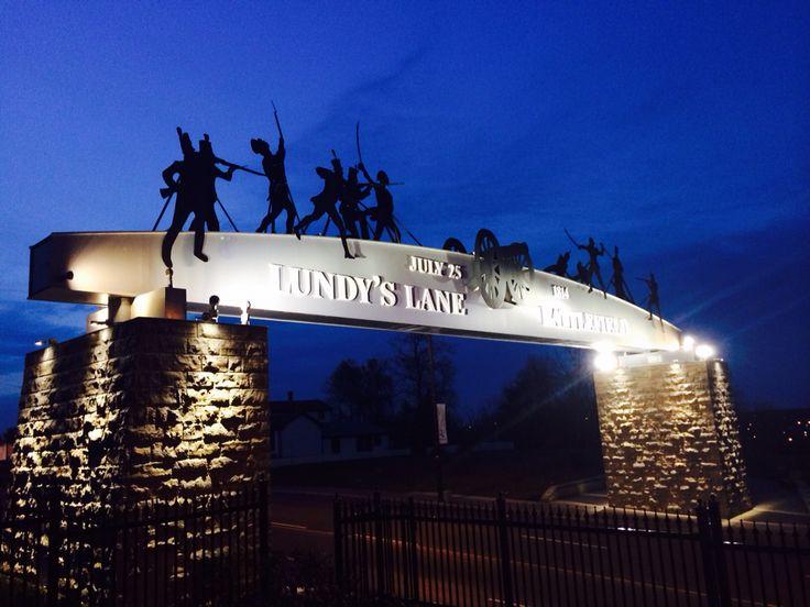 Battle of Lundy's Lane commemorative arch.