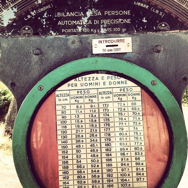 Bilancia dei bei tempi:) #peso #kg #uomo #donna