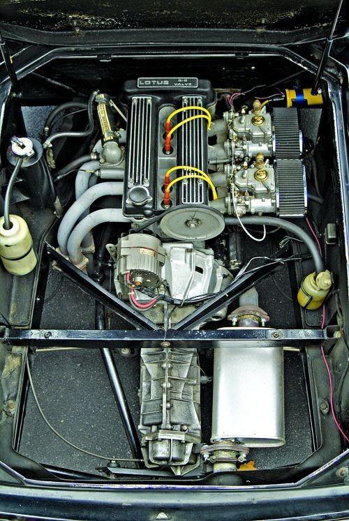 1966 - 1975 Lotus Europa