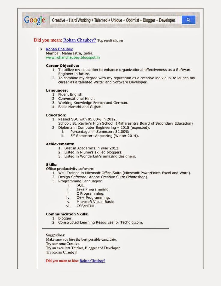 4210 best Resume Job images on Pinterest Resume format, Job - good job resume samples
